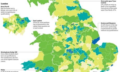 Education gap in Britain