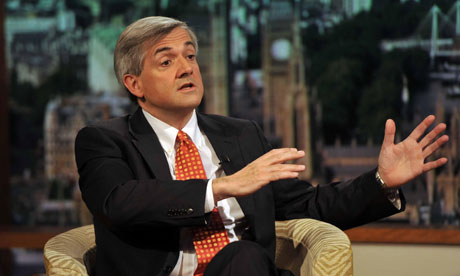 Chris Huhne on the Andrew Marr show