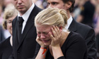 Mourners gather in Oslo following Norway attacks