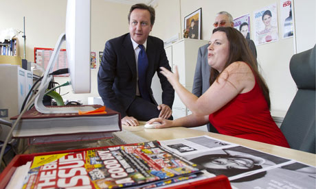 David Cameron guest-edits the Big Issue