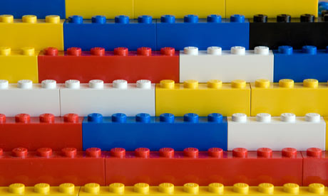 Stack of Lego Blocks