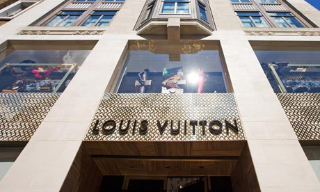 Louis Vuitton flagship store in Bond Street, London, Britain - 24 May 2010