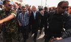 William Hague in Benghazi