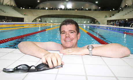 I Swam Like An Olympian Almost Sport The Guardian