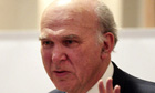 Vince Cable curbs on excessive salaries