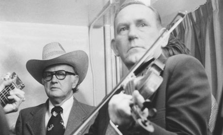 Bill Monroe and Kenny Baker