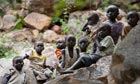 Children in Sudan's Nuba mountains