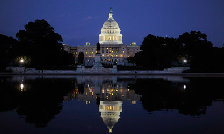 Capitol Hill US economy