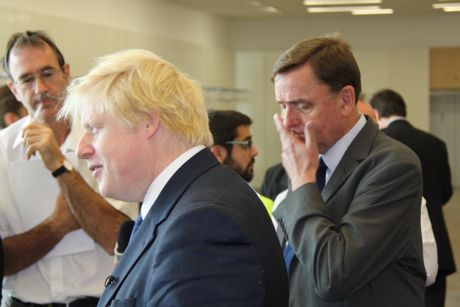Boris Johnson & Sir Robin Wales