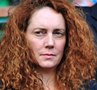 Rebekah Brooks at Wimbleton