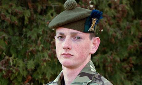 Scott McLaren of 4th Battalion, The Royal Regiment of Scot