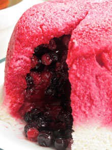 Jane Grigson summer pudding