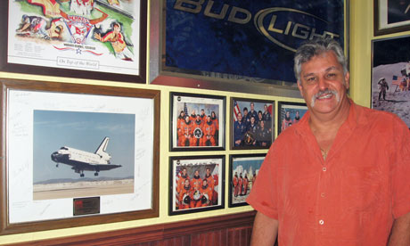 Space shuttle: Bill Grillo of Shuttles sports bar