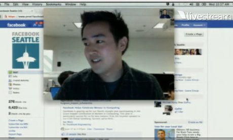 Facebook demonstrates its new integrated Skype feature