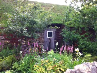 The Stockman's Retreat - part of the WorldSkills London 2011 Team UK garden