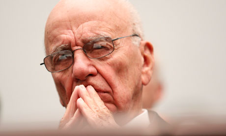 News Corporation CEO Rupert Murdoch
