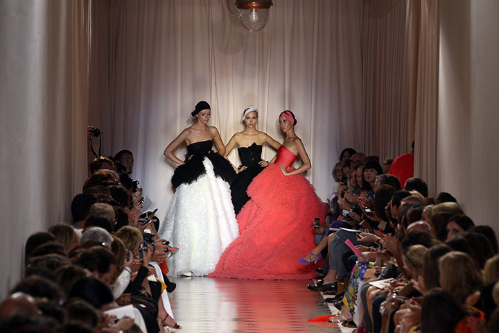 Paris Haute Couture: Giambattista Valli Haute Couture 2011/2012 collection Paris