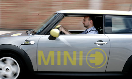 Leo Hickman test drives the Mini E.