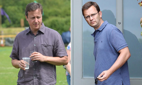 David Cameron and Andy Coulson composite
