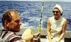 Betty Ford with husband Gerald on holiday in 1972