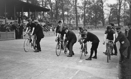 Herne Hill velodrome - London's last remaining venue from the 1948 Olympics