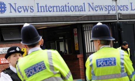 News International, Wapping
