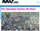 Avaaz Syria oil petition