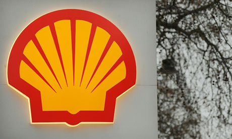 Shell have confirmed a leak in a pipeline serving one of their North Sea platforms. Photograph: Ben Stansall/AFP/Getty Images