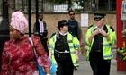 Police in Hackney
