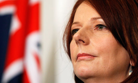 Julia Gillard wants to tax polluters