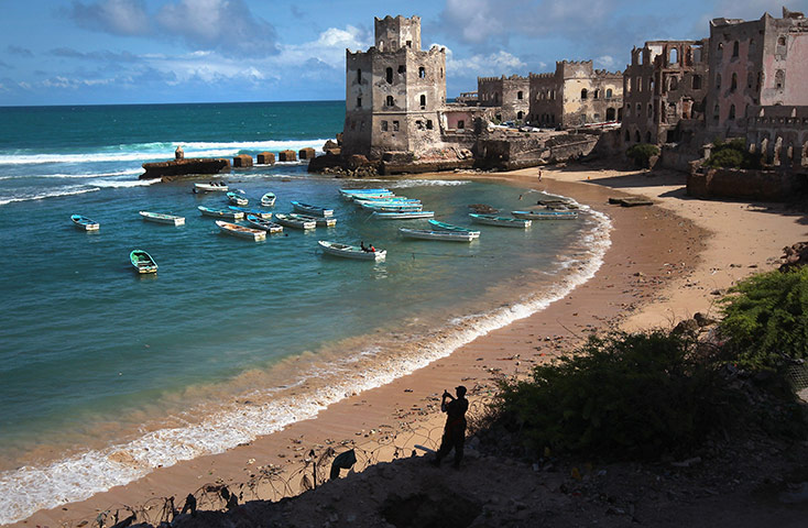 24 hours in pictures: Mogadishu, Somalia: The Indian Ocean meets the war-ravaged Somali coast