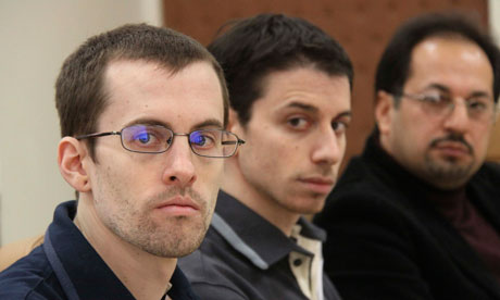 Americans Bauer and Fattal, jailed in Iran