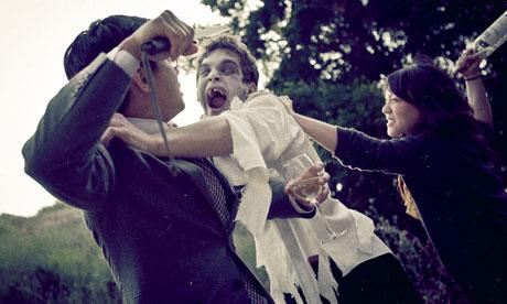 Zombie engagement ceremony