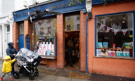 The Travel Bookshop in Notting Hill