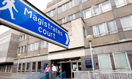 London riots magistrates court