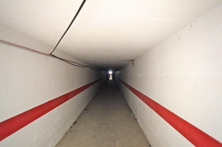 Bab al-Aziziya, Tripoli: Tunnel at the compound, Bab al-Aziziya compound