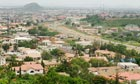 Abuja, the Nigerian capital, where part of the UN building has been levelled in an apparent bombing