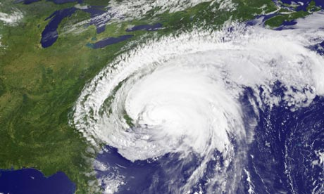 Hurricane Irene heads for New York