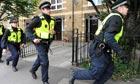 Police arrest riot suspects