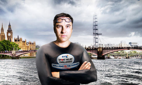 david walliams to swim the thames for sport relief