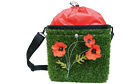 Grass bicycle pannier