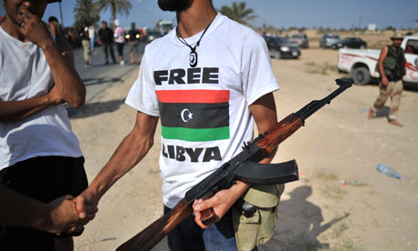 Free Libya fighters