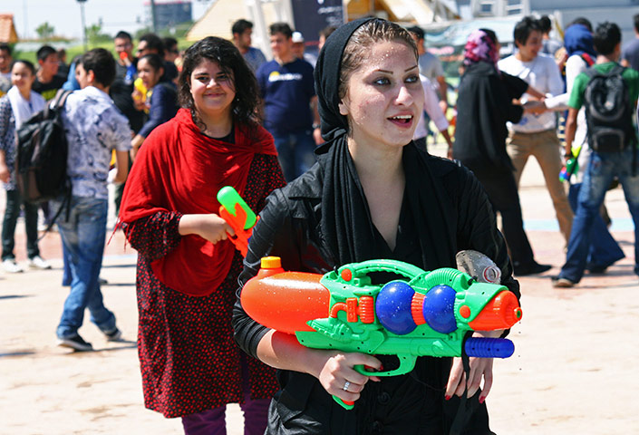 Water gun festival: Water Gun Festival in Tehran