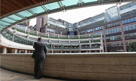 The Broadgate complex in the City of London