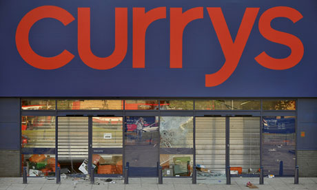 A branch of the electrical store Currys in Brixton