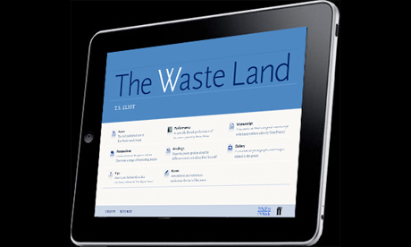The Waste Land iPad app earns back its costs in six weeks on the App Store