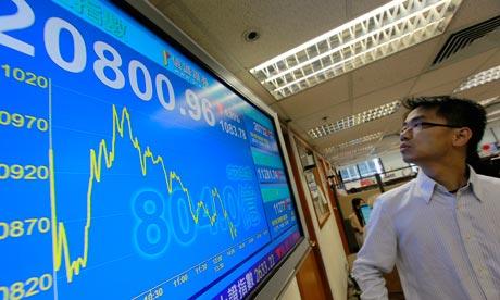 Hong Kong shares fall