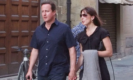 David Cameron in Tuscany