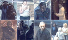 CCTV images of Croydon youths during the riots