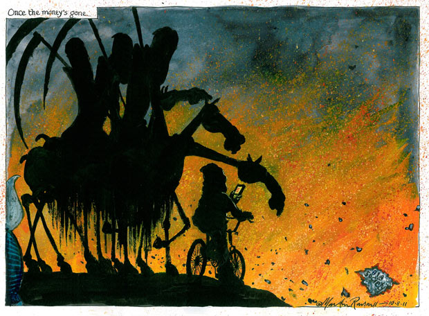 10.08.11: Martin Rowson on the UK riots and the 'big society'